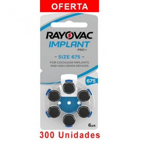 Rayovac AE675 - 300 uds. Implante coclear