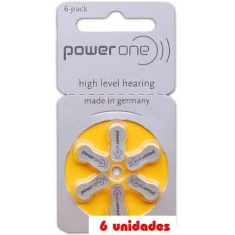 pack 60 pilas PowerOne P10 Audifonos