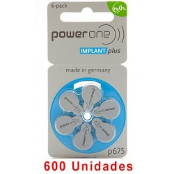 Powerone P675 IMPLANT PLUS 600 uds