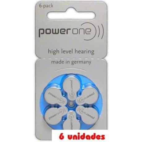 PowerOne 675 Audífonos 6 uds