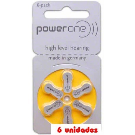PowerOne P10 Audifonos 6 uds