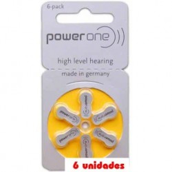 pack 60 pilas PowerOne P10 Audifonos