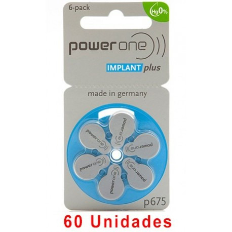 Powerone P675 IMPLANT PLUS 60 uds