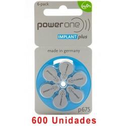 Powerone P675 IMPLANT PLUS 600 uds